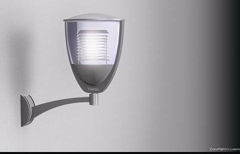 The most perfect design of garden light from Yeema