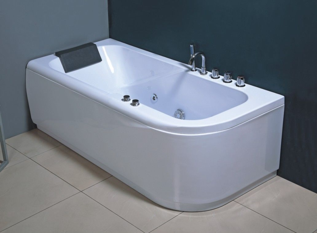 Bathtub sizes india for Tub length