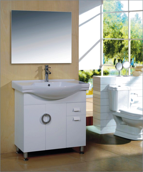 PVC bathroom cabinet click on image to enlarge & PVC bathroom cabinet bathroom cabinet