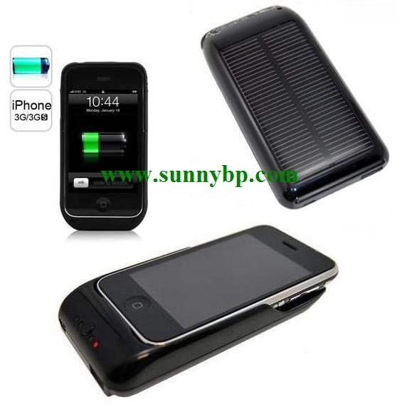Solar Backup Power for iPhone 4 Charger