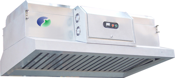 Grease Purification Range Hood for Commercial Kitchens