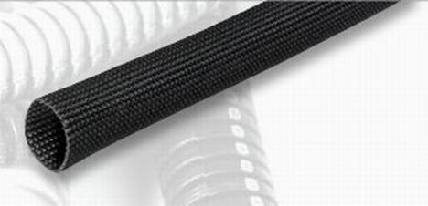 silicone fiberglass braided sleeving