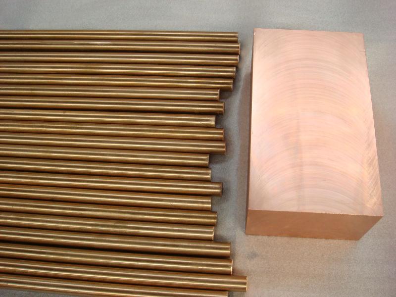 C17200 CuBe2 CW101C Beryllium Copper