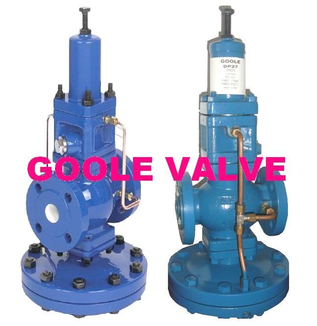 DP27 pilot operated pressure reducing valve