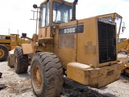 Used CAT936E wheel loader