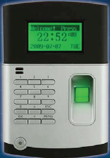 Time Attendance systems fingerprint matching terminal