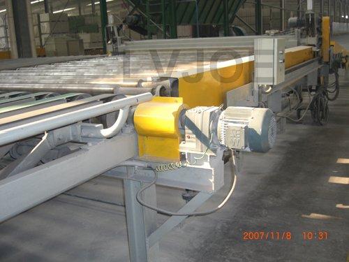 gypsum board prduction line