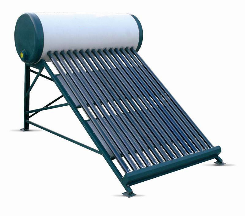 how to clean solar water heater