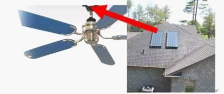 Solar ceiling fan solar ceiling fan solar ceiling fan click on image to enlarge aloadofball Choice Image