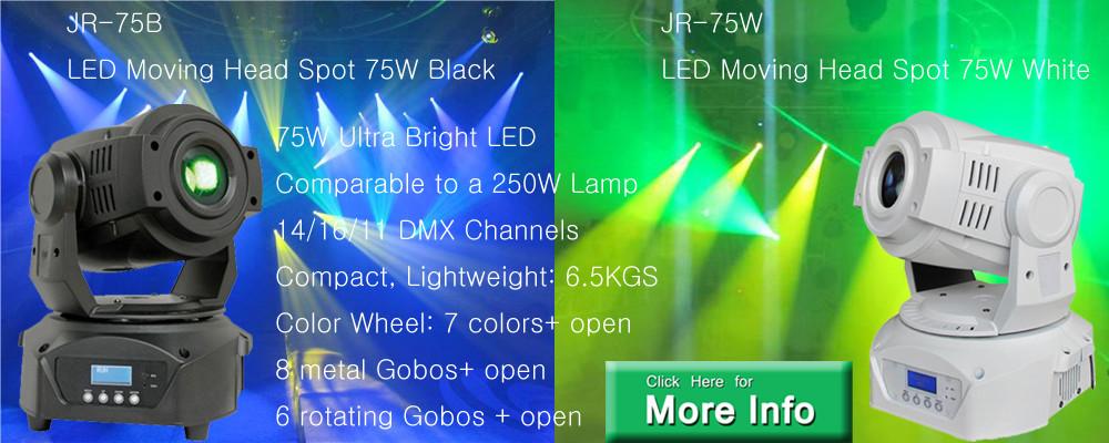 Lyre Spot DMX LED 75W Black