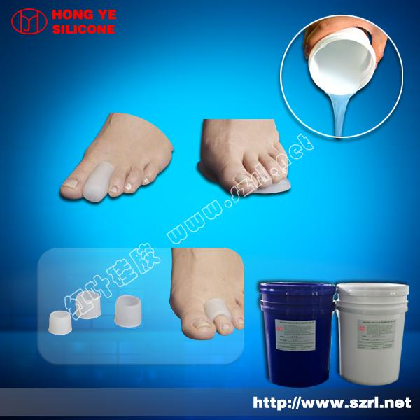 Liquid silicon rubber for Toe Spreaders