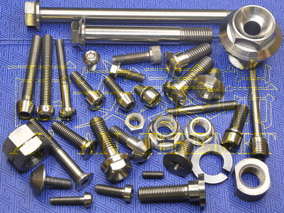 Titanium Fastener,Titanium Bolt,Titanium Nut,Titanium Washer