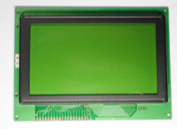 COB Graphic LCD Module 240x128,Yellow green led backlight