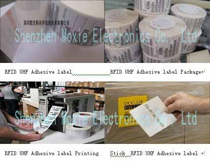 UHF RFID passive Sticker label