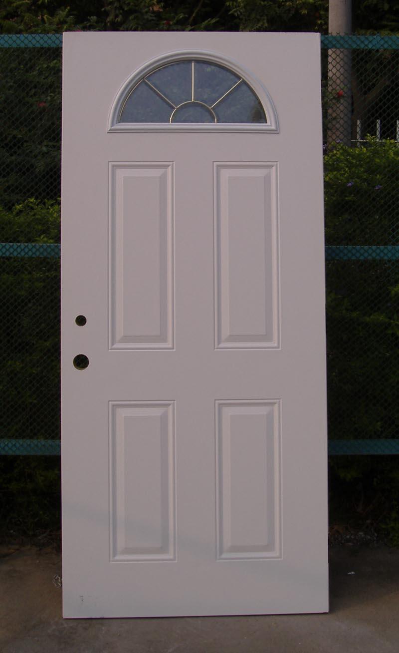Fan Lite 4 Panel Door