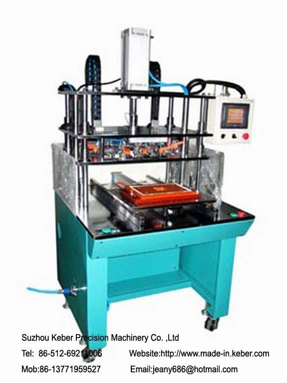 Milling material machine