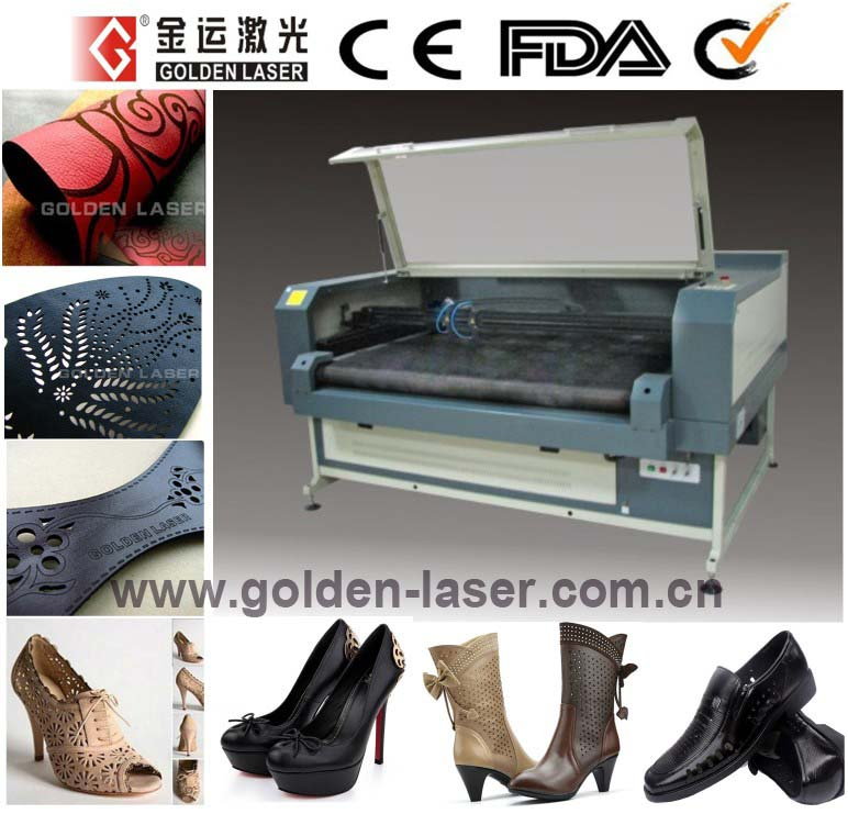 Shoes Leather Laser Cutting Machine