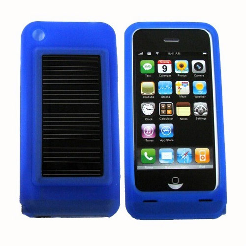 Solar Charger with silicon sheath for iPhone 2G/3G/3GS