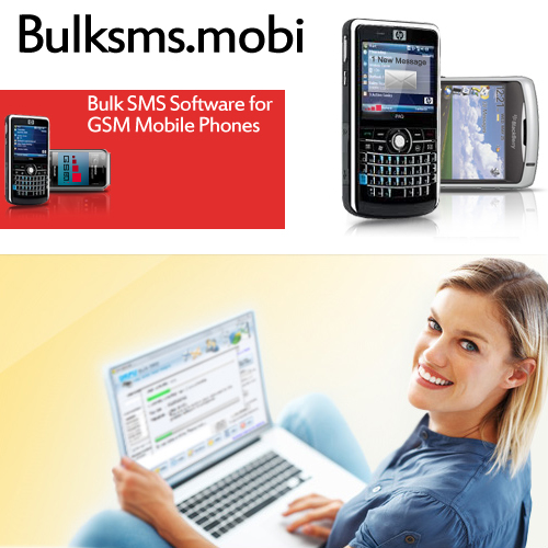 Bulk SMS Software for GSM Mobile Phones