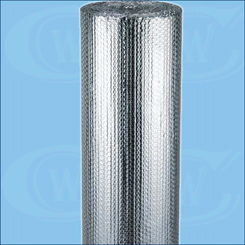 Aluminum radiant foil bubble bubble insulation for Fireproof vapor barrier