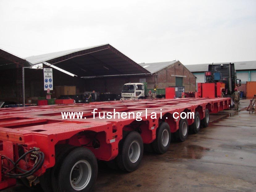 China hydraulic module trailer
