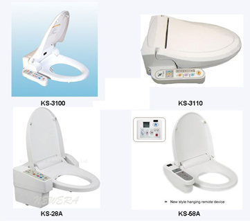 Electronic bidet toilet seat automatic toilet seat toilet seat cover elongated toilet seats - Automatic bidet toilet seat ...
