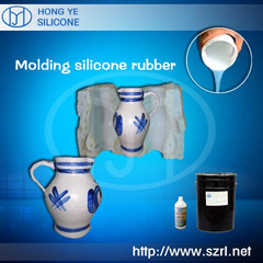 Addition silicone rubber for artificial stone molding
