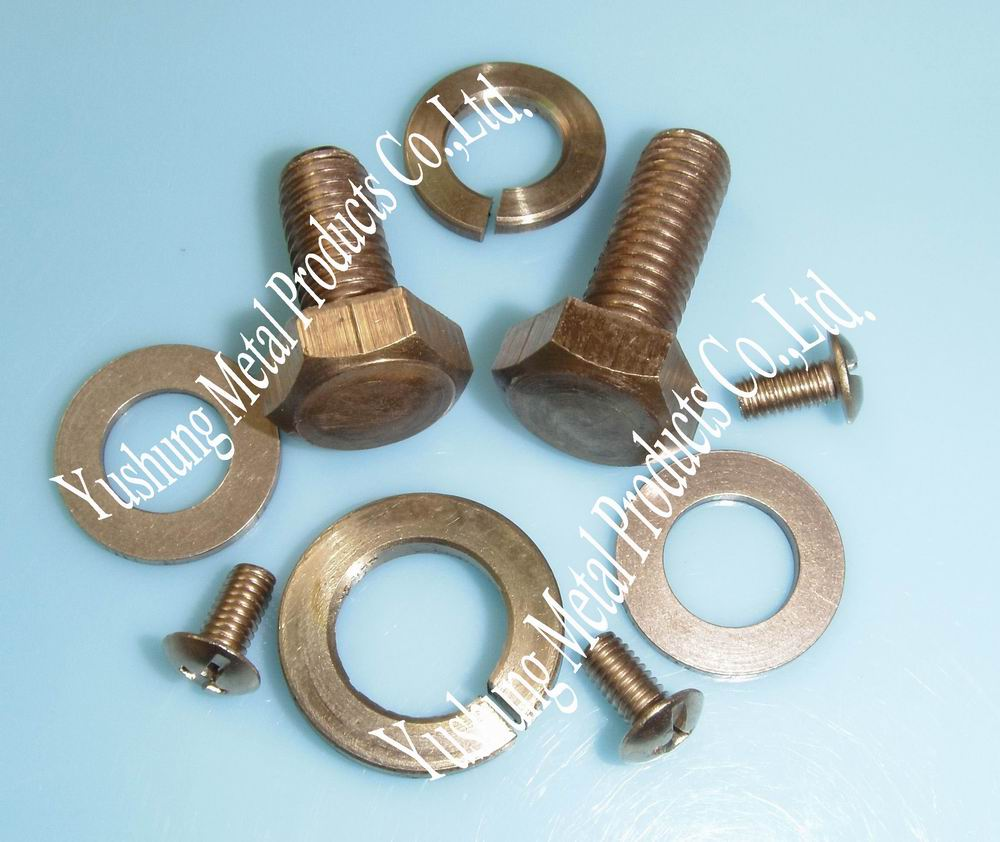 Phosphor bronze fastener