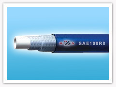 synthetic fibre braided rubber resin hose(SAE100R8)