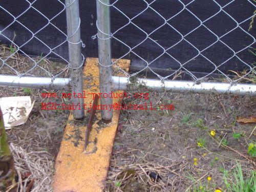 fence panel base