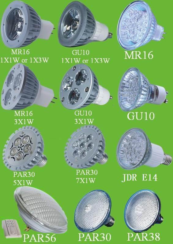 Led Spot Light Par30 Gu10 Mr16 Led Gu10 Mr16 Par20 Par30