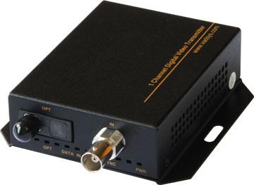 Video fiber optic converter