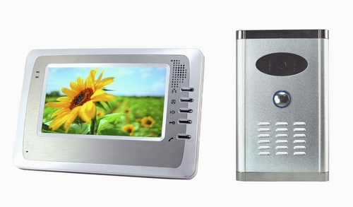 video door phone with recording function and 2GB SD card