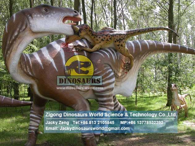 Animatronic dinosaur Artificial Iguanodon