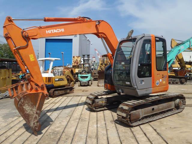 Hitachi ZX75US-A Used Excavator