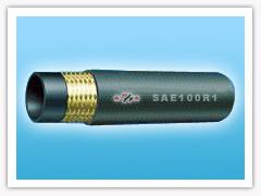 braided hydraulic hose (SAE 100R1)
