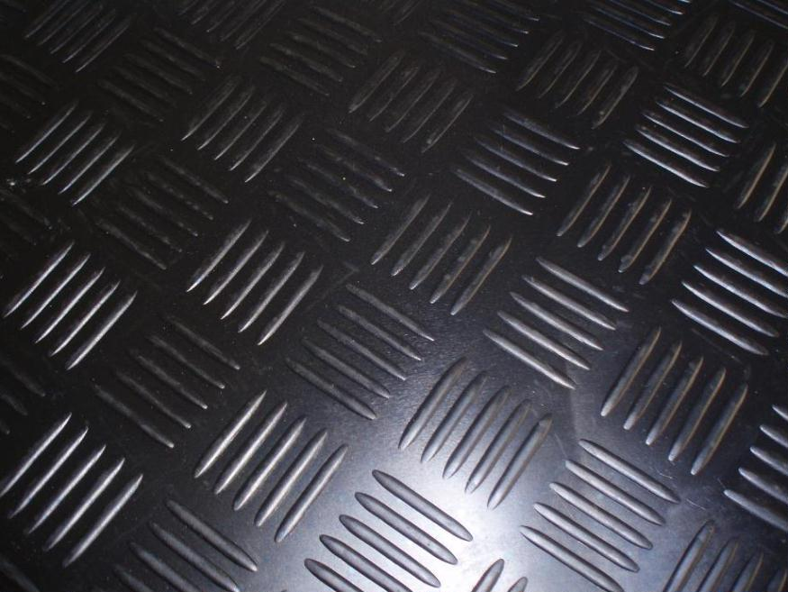 Checker Rubber Mat Rubber Flooring