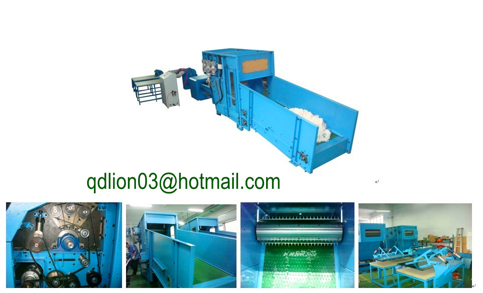 Automatic fiber filling machine