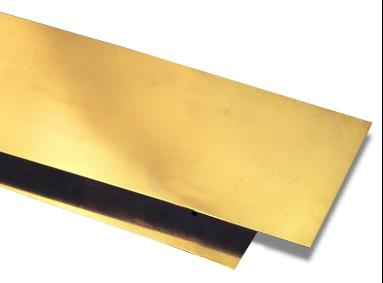 Brass sheet and plate