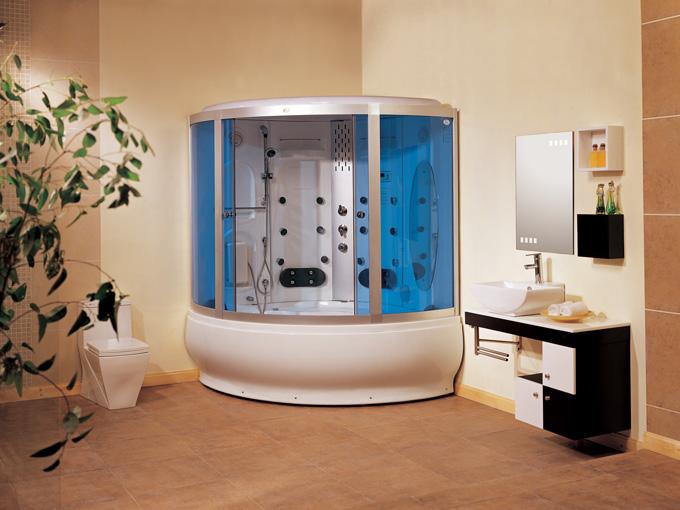Steam shower room/sauna house