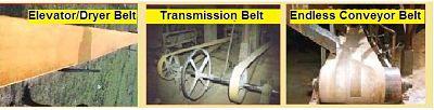 Nylon Woven Chemical Coated Belts