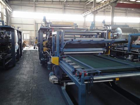 EPS & Rock Wool Sandwich Panel Machine, Sandwich Panel Line