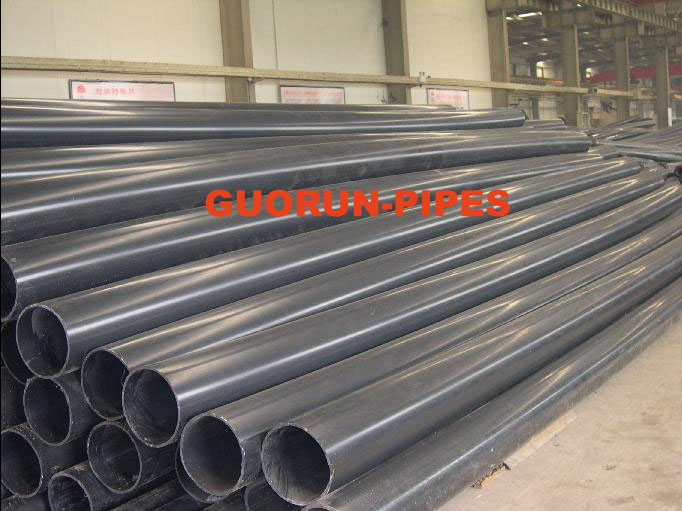 UHMW-PE pipe for channel dredging