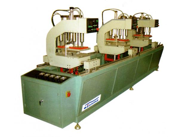 Three-head Welding Machine for Colorful PVC Windows & Doors