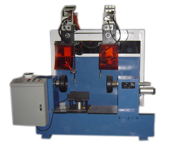 Double circular seam welder