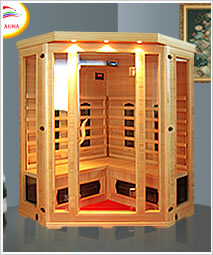 Infrared sauna house
