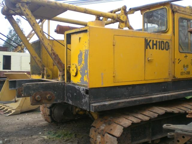 Hitachi KH 100 crawler crane,used crawler crane,secondhand