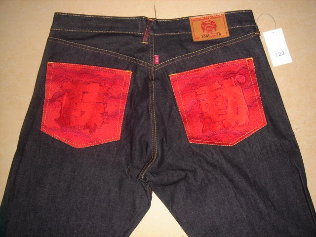 Evisu jeans Red monkey jeans