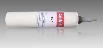 Heat conducting silicone adhesive