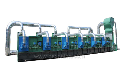 NSX-FS1500 recycled cotton making Textile Recycling machine